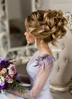 Elstile wedding hairstyles for long hair - Deer Pearl Flowers / http://www.deerpearlflowers.com/wedding-hairstyle-inspiration/elstile-wedding-hairstyles-for-long-hair/