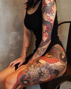Shared by 𝐒𝐂𝐎𝐑𝐏𝐈𝐎 𝐕𝐈𝐗𝐄𝐍. Find images and videos about black, red and Tattoos on We Heart It - the app to get lost in what you love. Dream Tattoos, Badass Tattoos, Sexy Tattoos, Body Art Tattoos, Tribal Tattoos, Sleeve Tattoos, Tattos, Lace Tattoo Sleeves, Dope Tattoos For Women