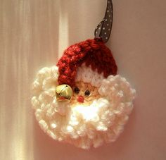 Crochet Santa Pattern Easy and FastUse as a Pin by craftnconsign