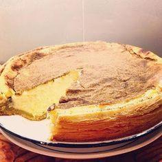 In en om die huis: Martjie se resep vir 'n outydse melktert Custard Recipes, Puff Pastry Recipes, Milk Recipes, Tart Recipes, Baking Recipes, Baking Tips, Melktert Recipe, Koeksisters Recipe, Sweet Pie
