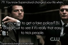 Supernatural! Is it really that easy??