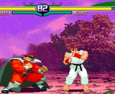 Street Fighter Alpha 3, arcade.