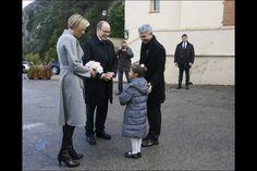 HSH Prince Albert and Charlene of Monoaco 1/14/2014