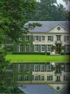 "Country Estate ~ Located in Brussels, this home is a serene retreat. This looks like a nice relaxing place to get away to for a ""quiet"" weekend!"