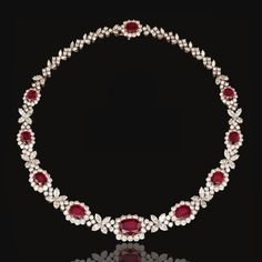 Harry Winston Ruby Necklace.