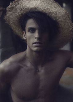 Baptiste Giabiconi by Karl Lagerfeld for Soon Magazine
