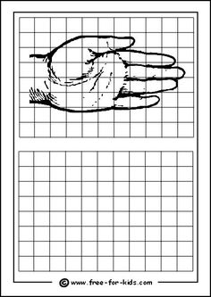Practice Drawing Grid with Hand