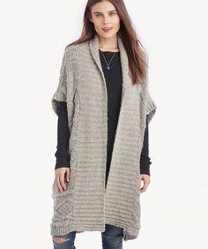 93d05fd5ea7 Women s Sleeveless Lofty Blend Tie Sweater Vest from Lands  End ...