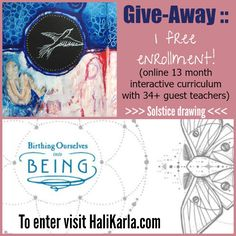 I'll be offering a visual journaling component to this incredible program that I can't recommend enough. You can win a gift spot (600 dollar value) to support you and the organic changes of your life in 2015. Drawing on The Solstice (tomorrow!).