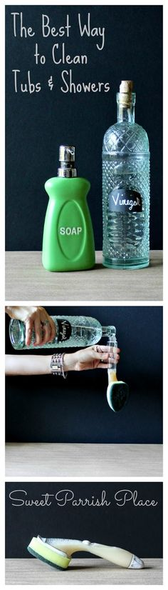 Hands down the best way to clean tubs and showers