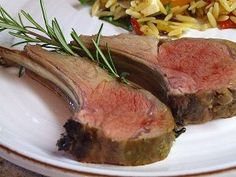 Ina Garten's Dijon Balsamic Rack of Lamb Recipe | Recipe Girl