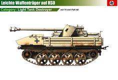 RSO mit 75mm Pak 40