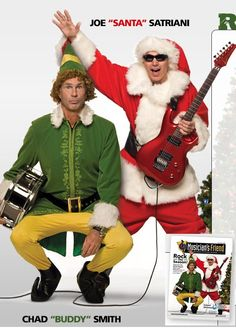 LOL!  If Santa could bring me another Satriani concert I would be so happy!