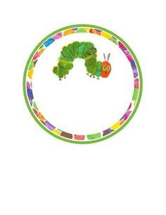 The Very Hungry Caterpillar round labels.There are four different pictures… Hungry Caterpillar Classroom, Very Hungry Caterpillar, Classroom Decor Themes, Classroom Themes, Cubby Name Tags, Cycle Pictures, Literacy Bags, Preschool Names, Bug Crafts