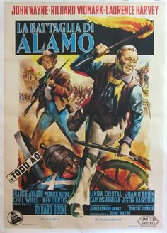 THE ALAMO (1960) - John Wayne - Richard Widmark - Laurence Harvey - Chill Wills…