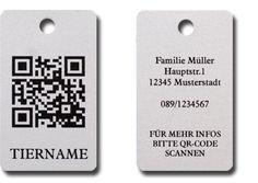 QR Code Hundemarke