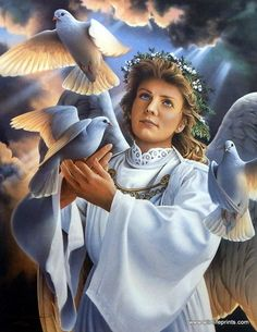 ANGEL OF PEACE BY JERRY GADAMUS