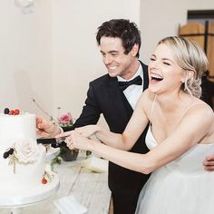 """13.4k Likes, 35 Comments - Ali Fedotowsky-Manno (@alifedotowsky) on Instagram: """"Us not having any fun at all at our wedding  Hehe. You made it possible @leilaklewis !!!!…"""""""