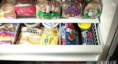 Khloe Kardashian Has a Lot of Butter, Bread in Her Fridge: Look - Us Weekly