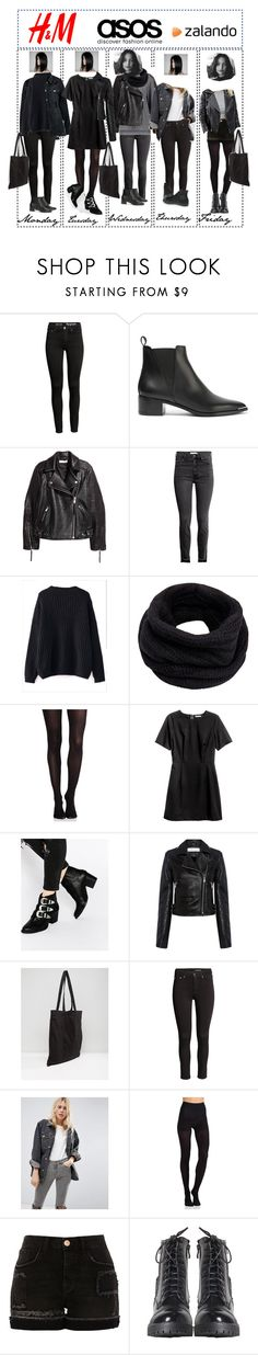 """Shop this look"" by sweetdreamer13 ❤ liked on Polyvore featuring Acne Studios, Dorothy Perkins, WithChic, Helmut Lang, SPANX, H&M, ASOS, IRO, Converse and Commando"