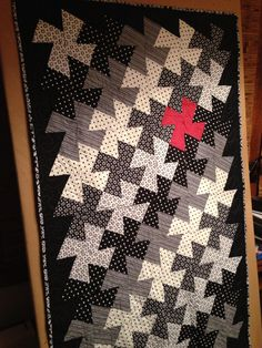 One of a Kind Twister Quilt for Jan  Like - I need to do something like this