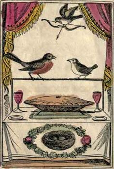 """""""The Wedding of Robin Redbreast and Jenny Wren"""""""