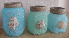 Αποτέλεσμα εικόνας για κατασκευες για το καλοκαιρι Summer Crafts, Diy And Crafts, Crafts For Kids, Seashell Crafts, Painting For Kids, Coastal Decor, Summer Time, Mason Jars, Projects