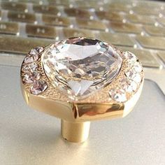 Cheap Diamond Korea, Buy Quality Diamond Directly From China Diamond  Exploration Suppliers: Modern Fashion Diamond Crystal Furniture Knobs Gold  Silver ...