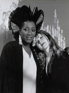 """cyndilauperportfolio: """" Patti Labelle and Cyndi Lauper """""""