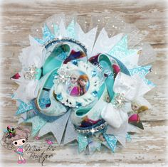 #frozen #elsa #anna #hairbow #stackedbow #missbsbowtique #disney #movies #cartoon #familymovie Be sure to check out our facebook page for weekly auctions and more!  www.facebook.com/missbsbowtique05 All custom orders can be placed at www.etsy.com/shop/missbsbowtique05