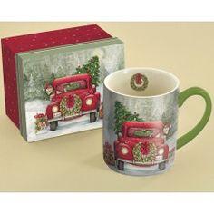 Santa's Truck Coffee Mug