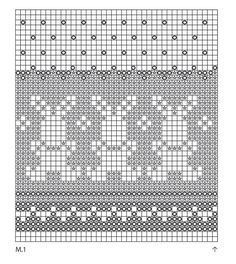 """Bunny Parade - Knitted DROPS pot holder with pattern for Easter in """"Paris"""". - Free pattern by DROPS Design Baby Hat Knitting Patterns Free, Fair Isle Knitting Patterns, Fair Isle Pattern, Mittens Pattern, Knitting Charts, Crochet Blanket Patterns, Knitting Stitches, Free Knitting, Stitch Patterns"""