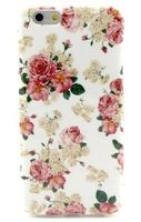 for iphone 6 blooming peony Pattern Mobile Phone Case for Apple Iphone 6 Iphone6 Protective Case back cover