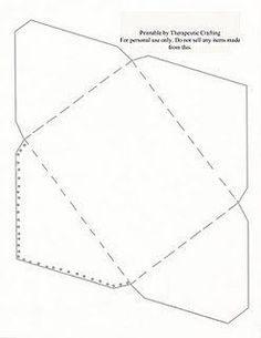 Mel Stampz: New Envelope Template (for a 5 1/2 inch square card ...