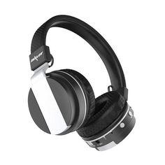2017 Hot Fashion 3.5mm Wireless Bluetooth Headset Earphone DJ Headphones Headband MP3 Portable Media Player DSP Noise Cancelling