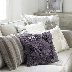 complementos decorativos : Decoración con Cojines, Color y Textura en los Ambientes