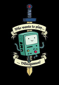 when I read this I hear it in BMO's tiny voice.