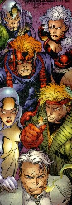 WildC.A.T.S. by Jim Lee