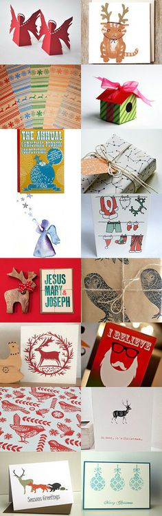 Christmas Post by Beth Paton on Etsy--Pinned with TreasuryPin.com