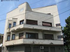 Solly Gold house by Marcel Janco in Bucharest (cca Dada Movement, Small Art, Bucharest, Modernism, Marcel, Romania, Buildings, Multi Story Building, Art Deco