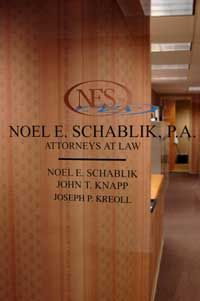 Noel E. Schablik, PA, lawyers serving Morris, Essex, Passaic and Sussex Counties New Jersey from Parsippany, NJ 07054  www.neslaw.com