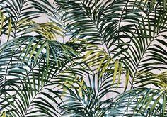 PALM SPRINGS vert (toile de lin)