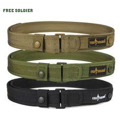 Outdoor Sport Tactical Belt For Camping Hiking Climbing,Molle Belt For Men's Inches Nylon Belt Tactical Belt, Tactical Knives, Tactical Survival, Nylons, Military Belt, Duty Gear, Belt Pouch, Edc Belt, Outdoor Apparel