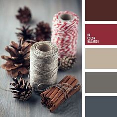 Beautiful, calm colours of this eco quot; palette are suitable for decoration of a living room in eco-style. Shades of brown and gray should be applied as a ba. Colour Pallette, Color Combos, Maroon Color Palette, Paint Combinations, Winter Colour Palette, Maroon Colour, Pantone, Color Concept, Color Balance