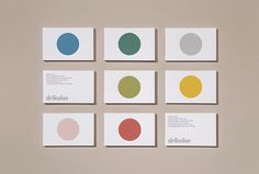 Picture of 3 designed by Inhouse for the project Drikolor. Published on the Visual Journal in date 17 July 2015