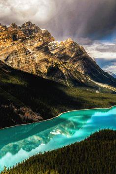 italian-luxury:  Peyto Lake Canada