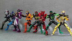 Kamen rider OOO full combination