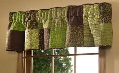 quilted valances   Pistachio Quilted Valance/Runner   Wild Wings