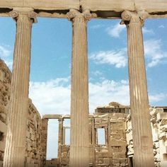 Looking through centuries!  #Acropolis #Athens #Greece #greekhistory #travel #loveGreece #visitGreece #historylovers