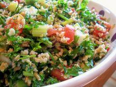 Tabbouli / Tabouli / Tabbouleh Salad (Parsley Salad)
